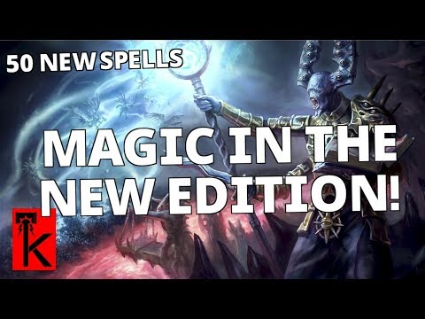 MAGIC CHANGES IN THE SECOND EDITION: Warhammer Age of Sigmar