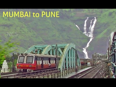 Mumbai - Pune Journey on a Rainy Day !! SINHAGAD EXPRESS