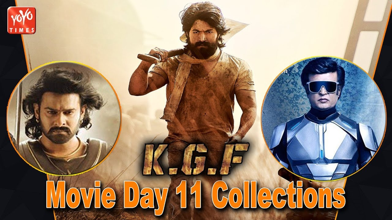 Kgf Movie Day 11 Collections Rocking Star Yash Kgf Chapter 2