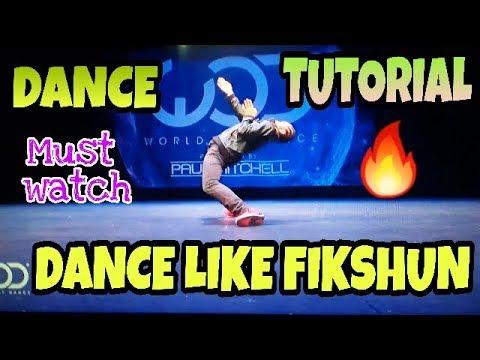 HOW TO DANCE LIKE FIK-SHUN 😲   DANCE TUTORIAL   MATRIX DANCE TUTORIAL   Share