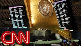 Kirby: UN rebukes Trump administration on Jerusalem