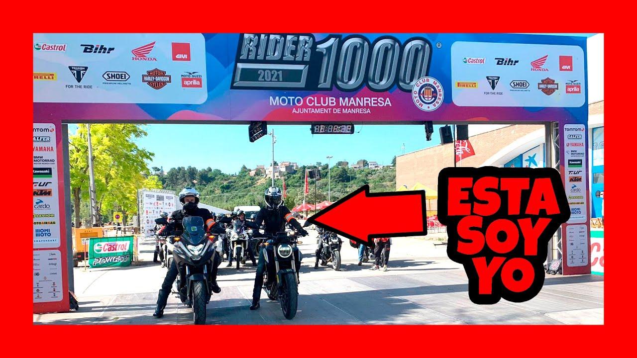 🧭 Nos vamos a la RIDER1000 con MOTOBLOUZ [2021]