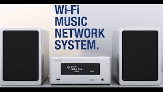Denon: Ceol Piccolo - Wifi Music Network System