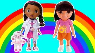 SCOPRI IL GIOCATTOLO - Coi giochi di Dora l'esploratrice, la Dottoressa Peluche e tanti altri!