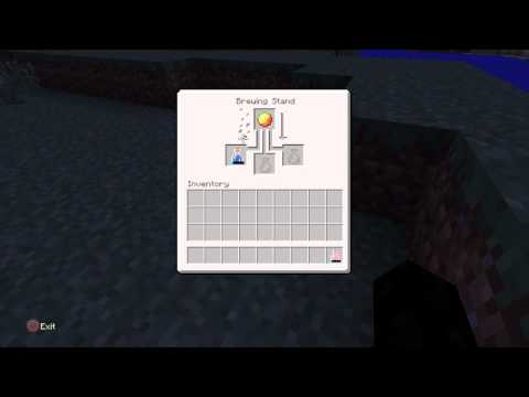 minecraft how to make a fire resistance potion xbox 360