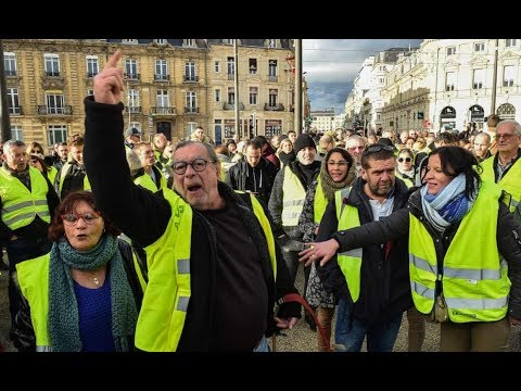 Yellow Jackets Bring France To A Halt! Protest Turn Violent. Still Retain Majority Public Support