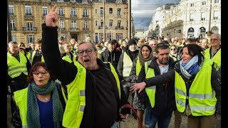 Yellow Jackets Bring France To A Halt! Protest Turn Violent. Still Retains Majority Public Support