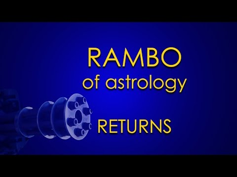 Rambo Of Astrology Returns To Ground Zero (Our Eyes: Sun And Moon)