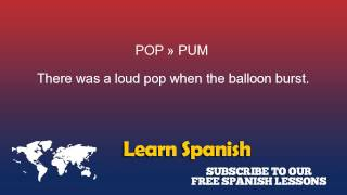 Baixar Pop in Spanish