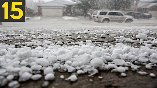 15 BIGGEST HAIL STORMS