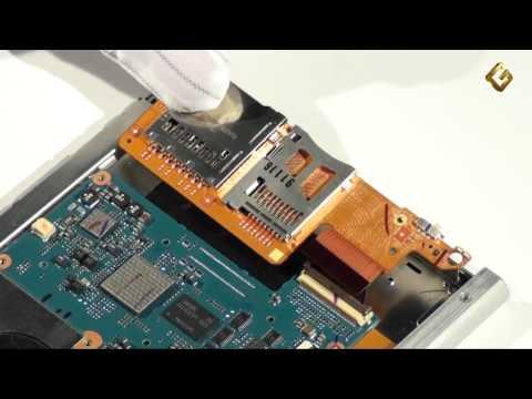 Sony PRS-600 Touch Edition - как разобрать электронную книгу