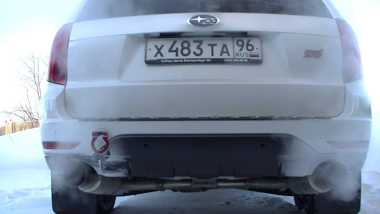 Subaru Forester Cat Back Exhaust