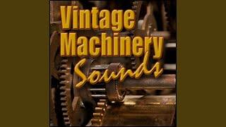 Industry, Workshop - Antique Woodworking Shop: Machinery Idling, Engines, Motors & Machines