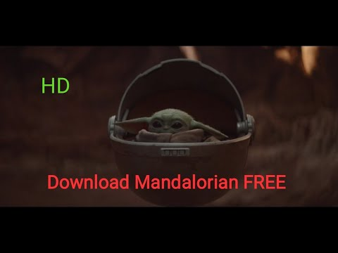 How to download Star wars Mandalorian (HD FREE!!) English
