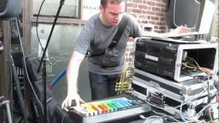 exaltron drum n bass with vocoder midi guitar- dubspot/warper MMNY (make music new york)