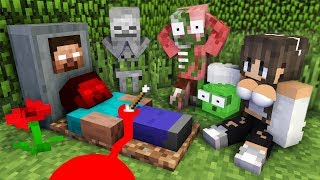 Monster School : RIP Herobrine - Minecraft Animation