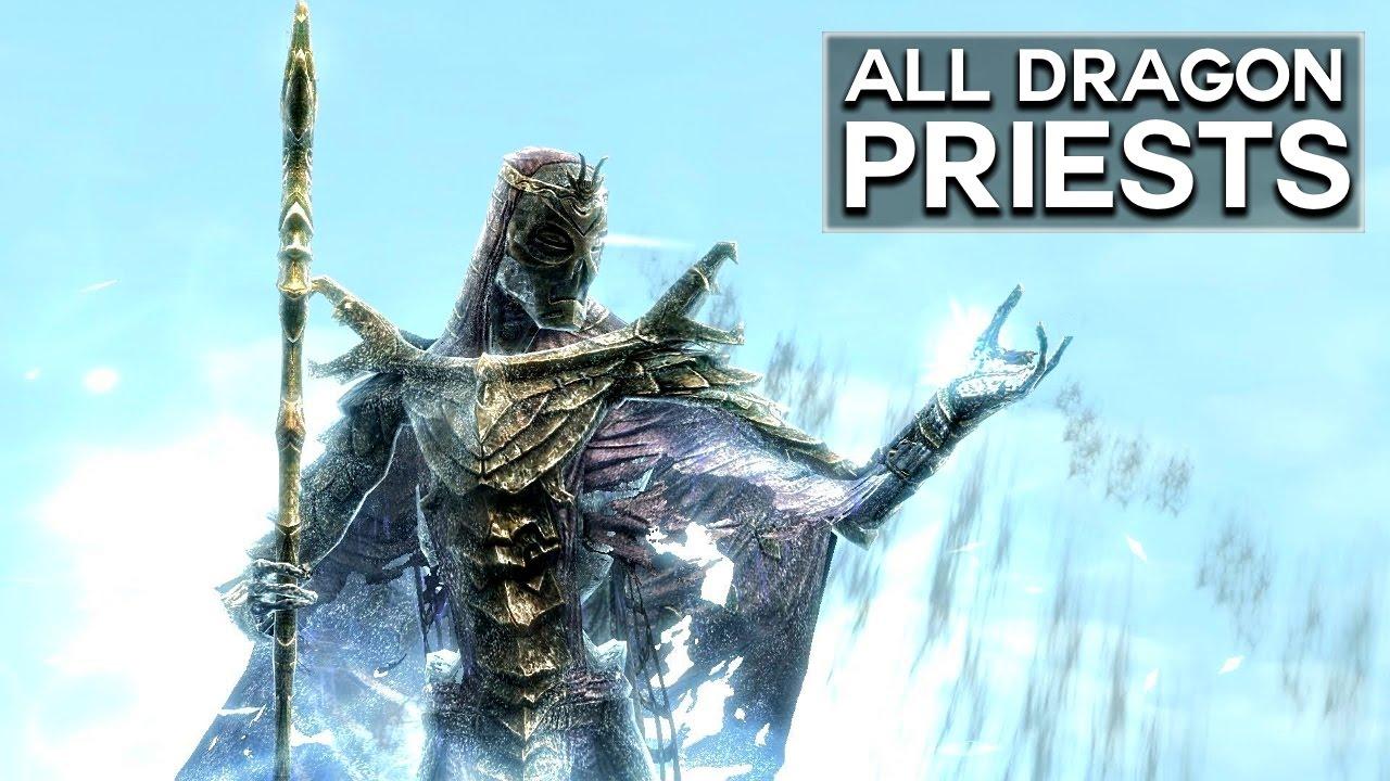 Skyrim: Dragon Priest Mask Locations - Elder Souls