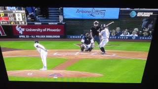 Sean Rodriguez hits monster 2 home run vs Diamondbacks 4-22-16