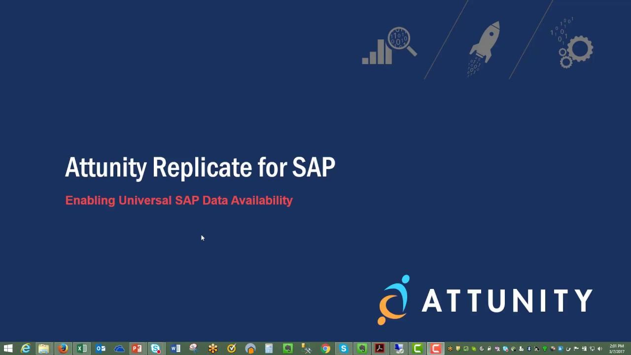 Attunity Replicate for SAP - IBT