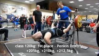Несгибаемые ветераны, Championship of SPb on classic bench press 2016. Master 1 40-49 years(, 2016-03-13T09:10:10.000Z)