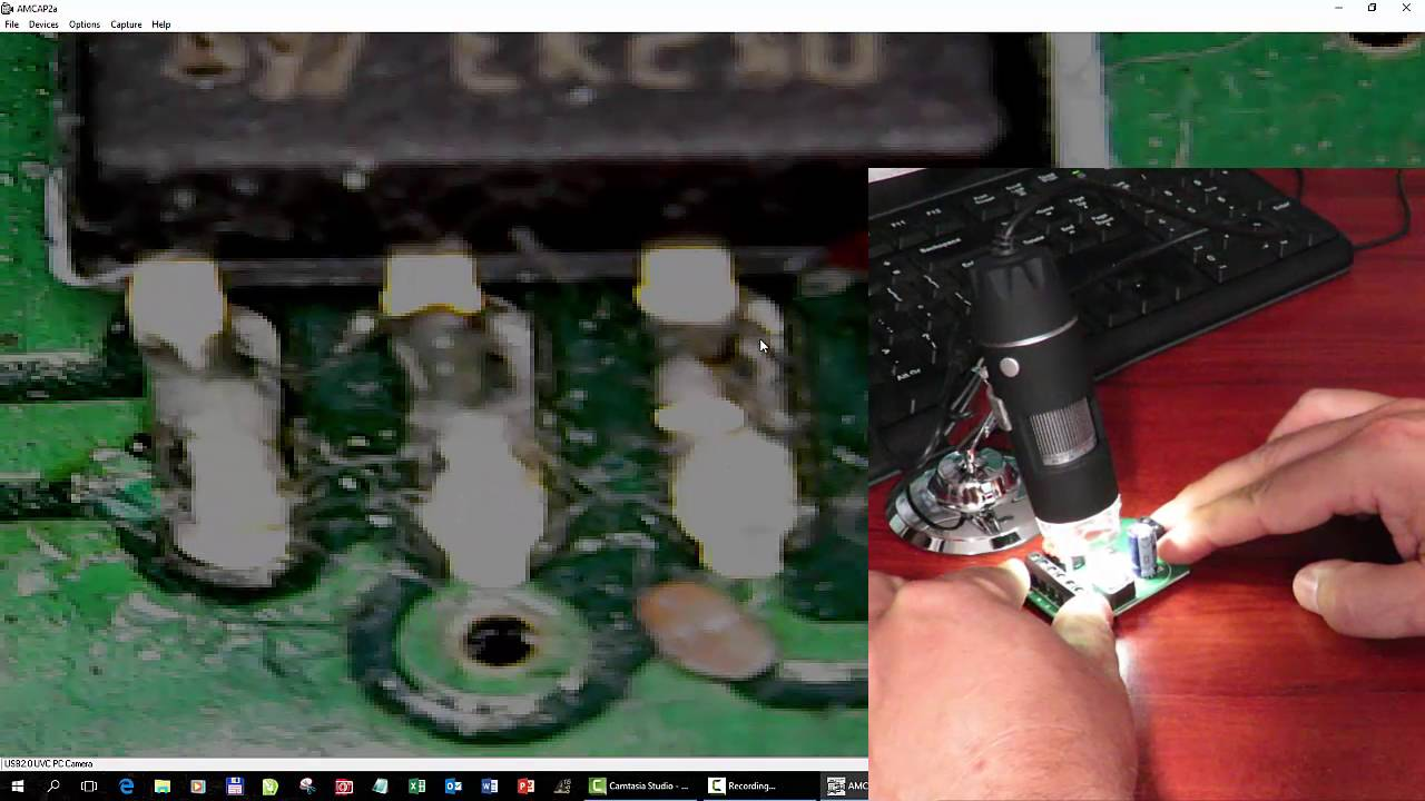 Cyfrowy mikroskop na usb z podświetleniem led youtube