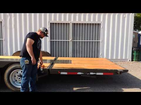 Brute Trailers Old Style Hydraulic Dovetail Trailer Doovi