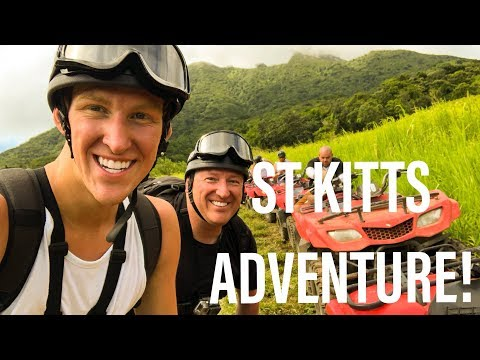 CRAZY ST KITTS Volcano Adventure!!! [Travel Vlog Series 4K]