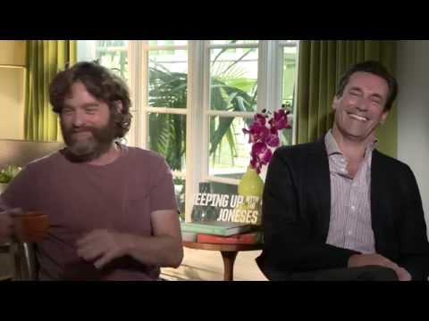 Zach Galifinakis & Jon Hamm | KEEPING UP WITH THE JONESES | Scott Carty