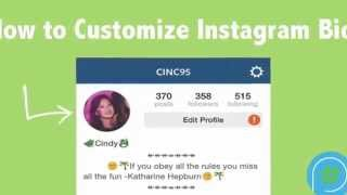 How To Customize Instagram Bio for iPhones