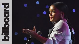 Janelle Monáe Gives Inspirational Speech on What It Means to Be a Trailerblazer at WIM 2018