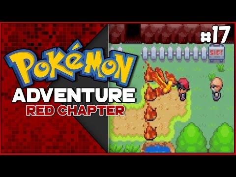 Pokemon Adventures Red Chapter Part #17 - BLAINE! Gameplay Walkthrough w/ Voltsy