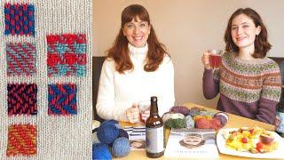 Design-Lead Mending - Collingwood-Norris - Ep. 111 - Fruity Knitting Podcast