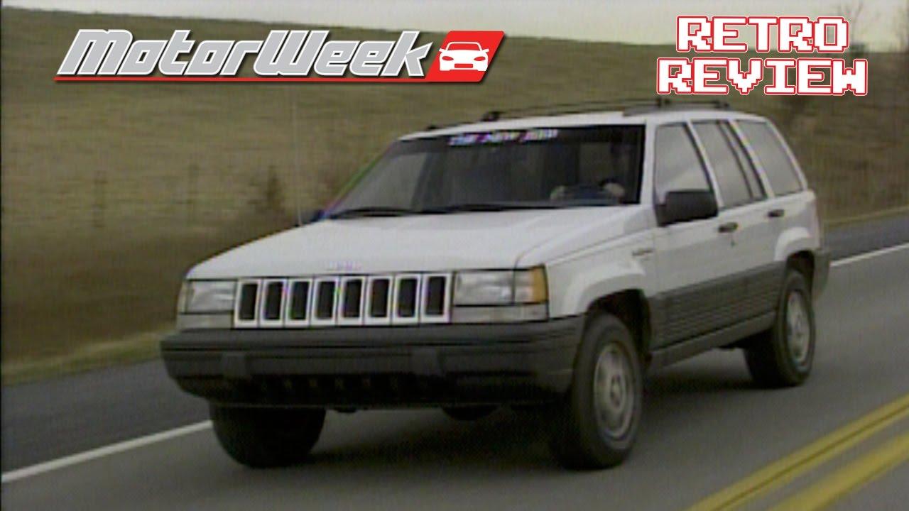 retro review: 1993 jeep grand cherokee laredo - youtube