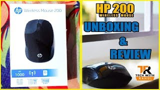 HP 200 Wireless Mouse Unboxing & Review With Full Details | In Hindi