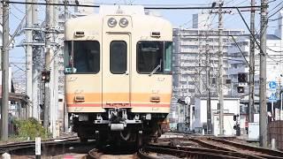 2018.01.20.伊予鉄道モハ2100形2103&モハ700系764@古町
