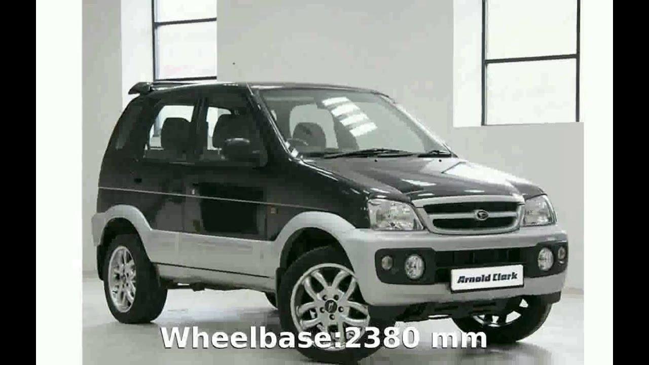 2005 Daihatsu Terios 1 3 4wd - Specs