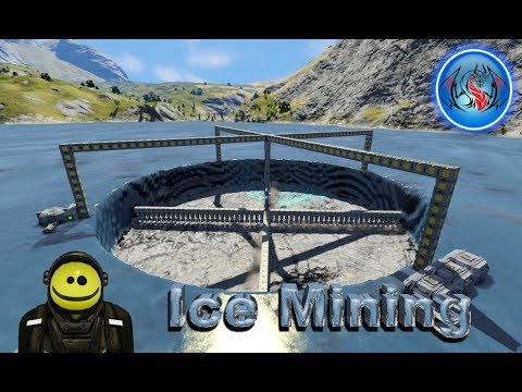 Space Engineers #7: Ice Mining