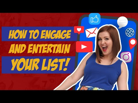 How To Entertain And Engage Your List | Market Like A Nerd