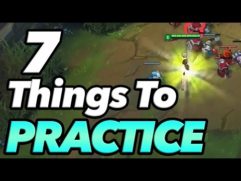 7 Things You Should Practice in Sandbox Mode - League of Legends