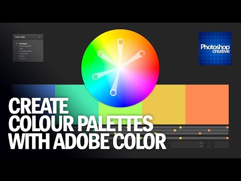 Create Colour Palettes With Adobe Color