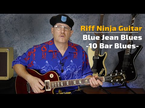 Blue Jean Blues - 10 Bar Blues Study