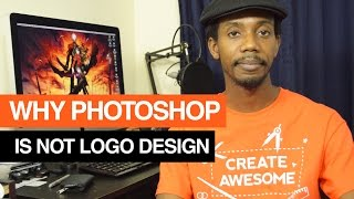 Why Photoshop Is Not a Logo Design Program(Why Photoshop Is Not a Logo Design Program http://youtu.be/jC2rPYR7ANY Logo Designers should not be using Photoshop to Design Logos. Logos need to ..., 2014-12-25T03:08:34.000Z)
