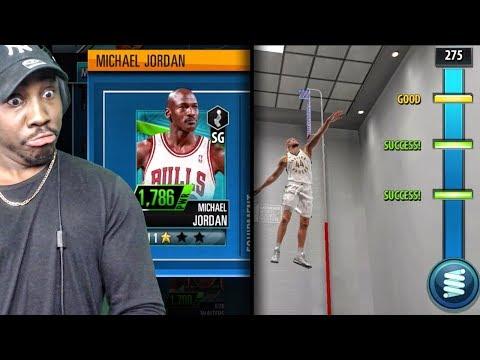 NBA 2K MOBILE GAMEPLAY! 1ST LEAGUE GAME, MICHAEL JORDAN CARD, VERTICAL JUMP DRILL & MORE! Ep. 3