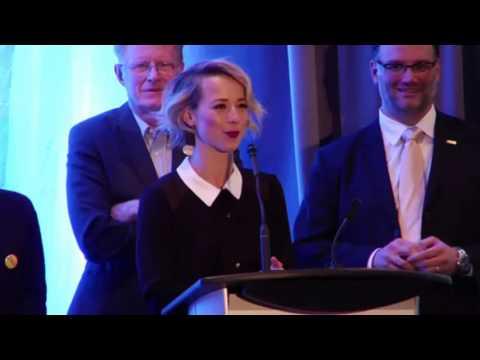 Karine Vanasse & Ed Begley at Uranium Film Festival French