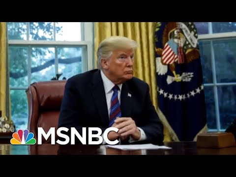 Did President Donald Trump Really Color In The American Flag Wrong? | All In | MSNBC