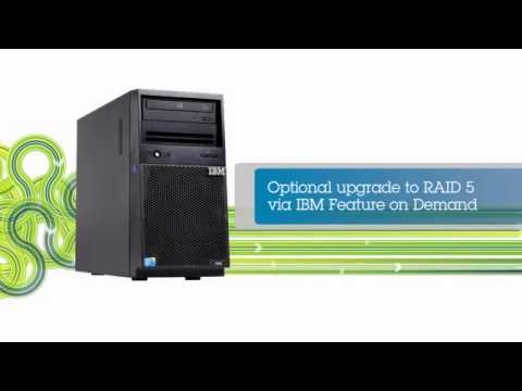 IBM System X3100 M5   Robust Performance In A Value Priced, Compact Single Socket Tower Server