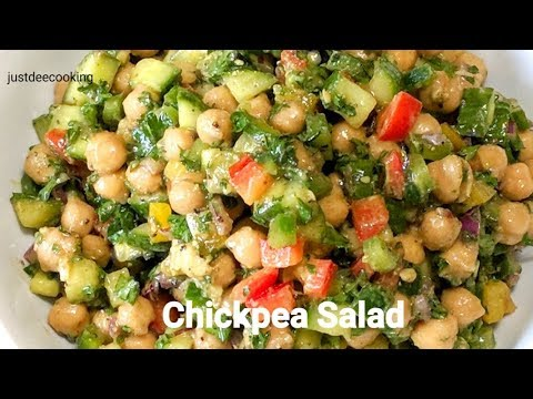 Chickpea Salad (Garbanzo beans salad)