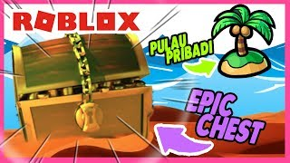 ROBLOX INDONESiA | WUAH ADA Private ISLAND x EPiC CHEST & RED Sand??? 😍