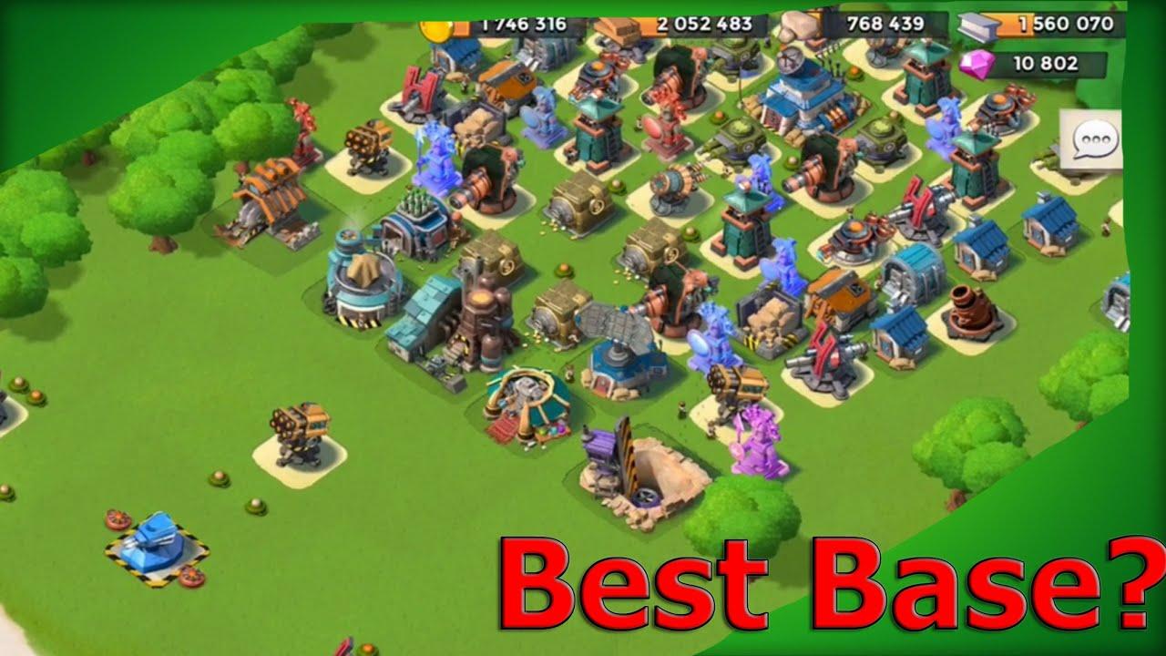 best boom beach base