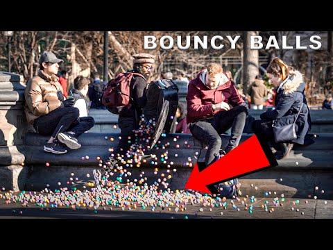 Dropping 5000 Bouncy Balls In Public